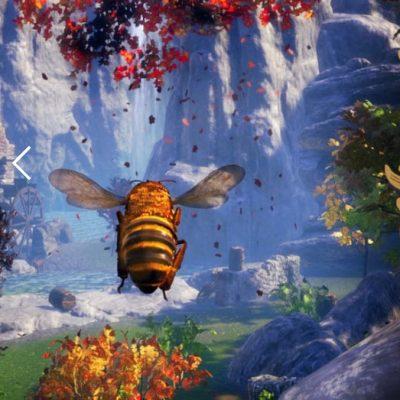 gry z pszczołami w roli głównej
