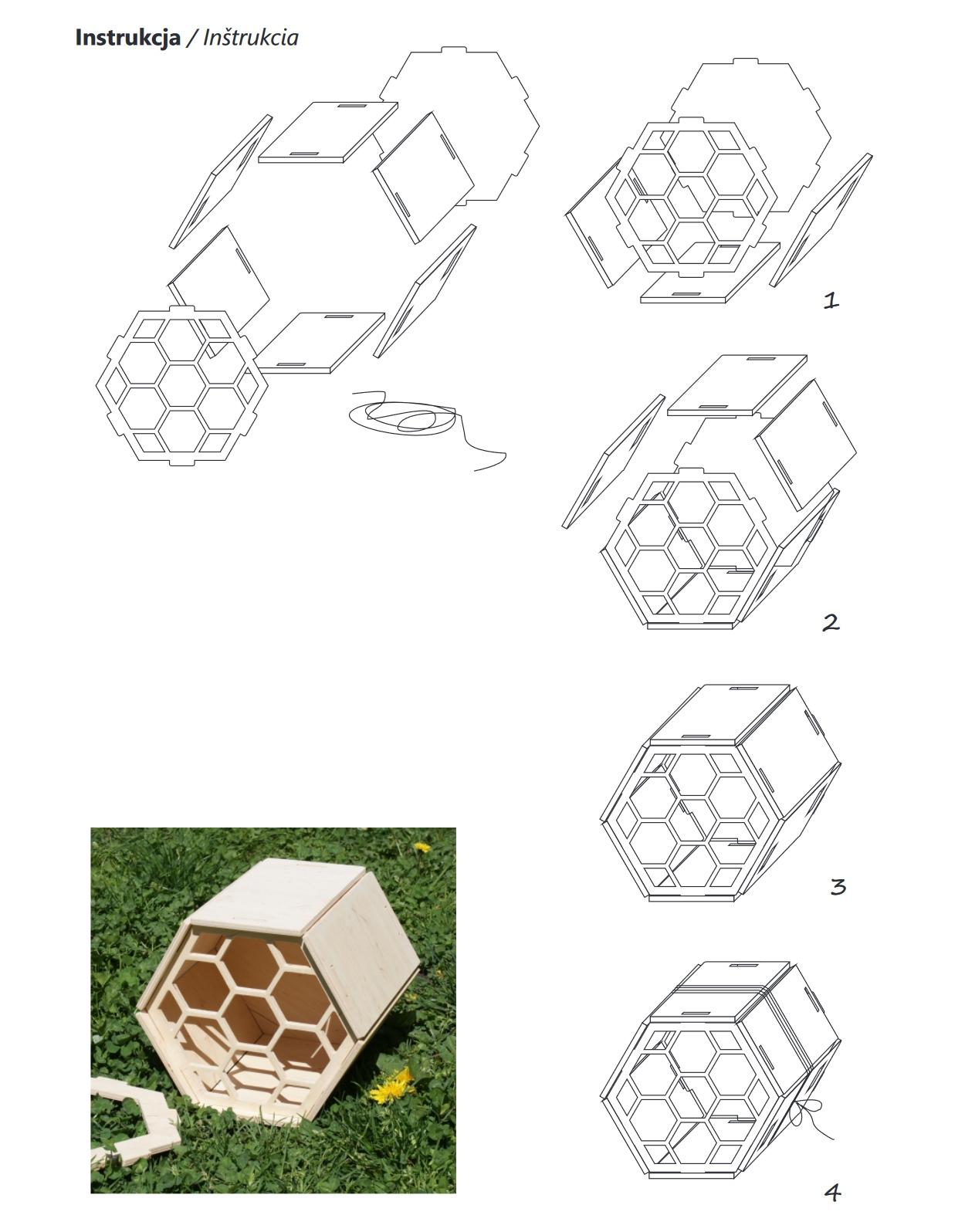 Konspekt – Budowa hotelu dla dzikich pszczół
